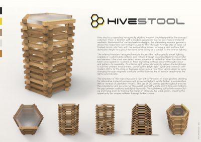 Hive Stool PG1