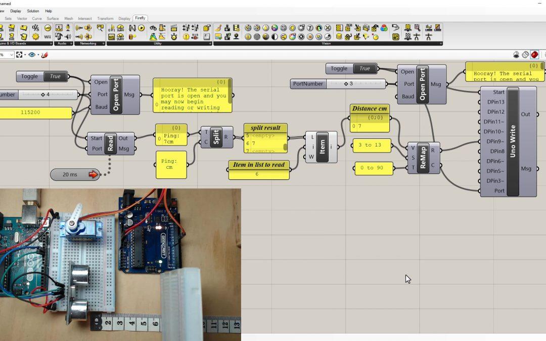 Firefly – Serial Read Ultrasonic Sensor