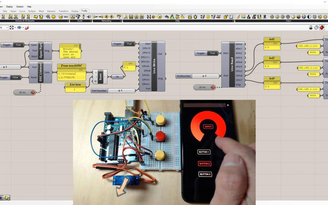 Firefly – TouchOSC Listener & Sender Control Interface