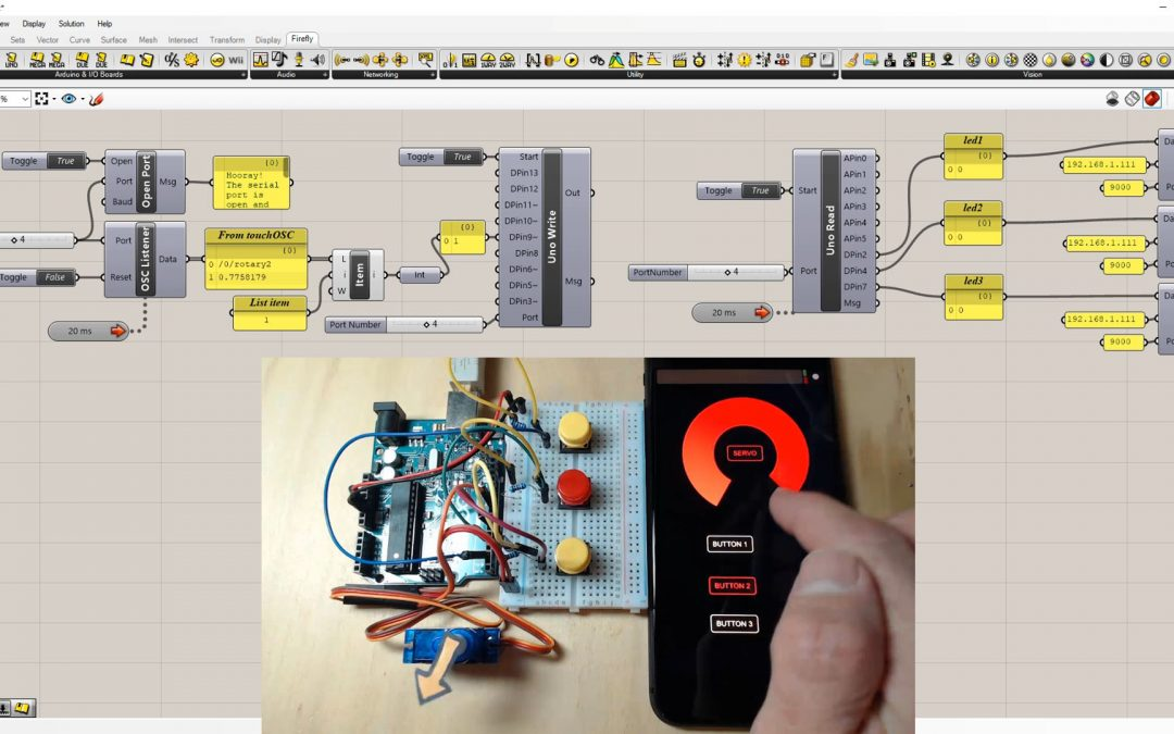 Firefly – TouchOSC Listener & Sender Control Interface